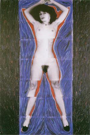 Siren by Julie Rrap contemporary artwork