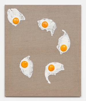Untitled (Eggs) by David Adamo contemporary artwork