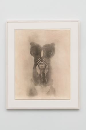 Untitled (Body Print) by David Hammons contemporary artwork