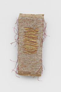 Lienzo Ceremonial - Estudio 7 [CeremonialCanvas - Study 7] by Olga de Amaral contemporary artwork sculpture
