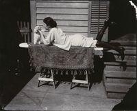 Storyville Portrait by E.J. Bellocq contemporary artwork photography