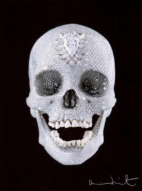For the Love of God, Believe, by Damien Hirst contemporary artwork