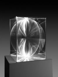 Transparency and Radiance by Heinz Mack contemporary artwork sculpture