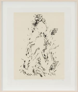 Untitled by Elaine De Kooning contemporary artwork