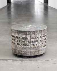 Linea lunga 7200 metri(Long line 7200 meter) by Piero Manzoni contemporary artwork sculpture