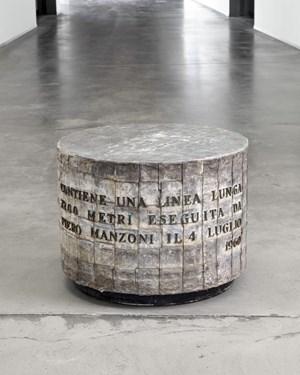Linea lunga 7200 metri (Long line 7200 meter) by Piero Manzoni contemporary artwork