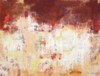 Brown Sky by Yi Kai contemporary artwork painting