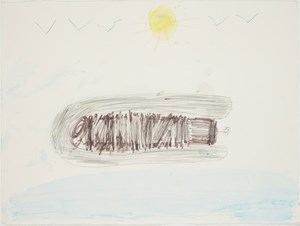Boat by Muhamad contemporary artwork