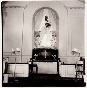 Shrine of the black Madonna, Detroit, Mich. by Diane Arbus contemporary artwork