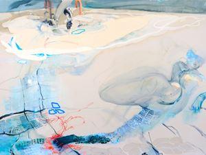 Silt by Araminta Blue contemporary artwork