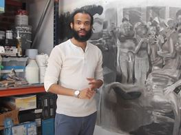 Cosmo Whyte Previews New Artwork Exploring Current Social Issues