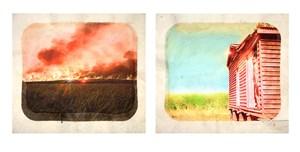 Plantation (Diptych No. 9) by Tracey Moffatt contemporary artwork
