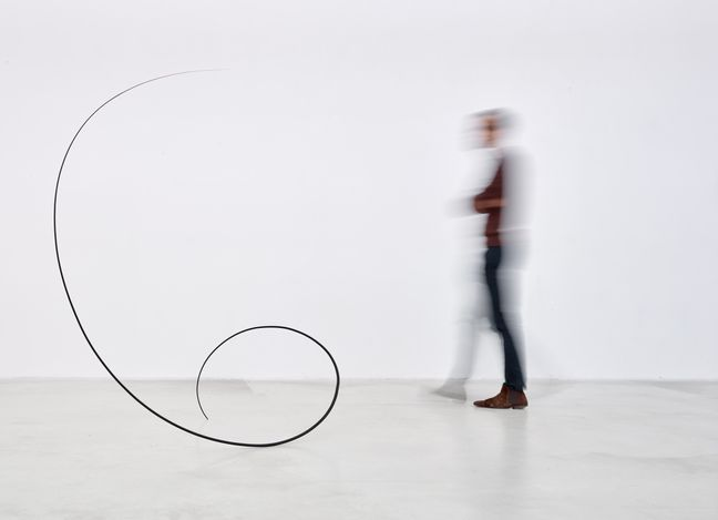 Exhibition view: Otto Boll,Widening the Language, Axel Vervoordt Gallery, Antwerp (10 April–12 June 2021). Courtesy Axel Vervoordt Gallery.