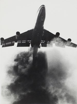 August 7, 1977, Chiba | First noise test with Boeing 747 LR around Narita airport by Takashi Hamaguchi contemporary artwork