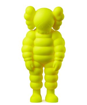 What Party (Yellow) - Chum by KAWS contemporary artwork