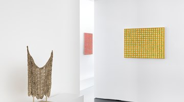 Contemporary art exhibition, Michelle Grabner, Paintings and Sculptures at Anne Mosseri-Marlio Galerie, Basel