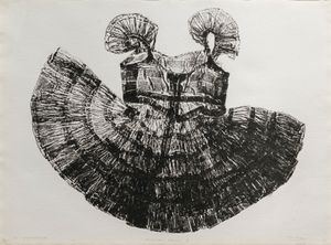 Kambal Print by Marina Cruz contemporary artwork