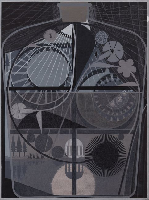 Tincture #7 (Circadian Courtyard) by Michael Stamm contemporary artwork
