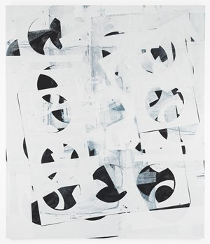 Composite 10 (pivot white) by Kevin Appel contemporary artwork
