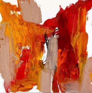 Gladioli by Amir Guberstein contemporary artwork