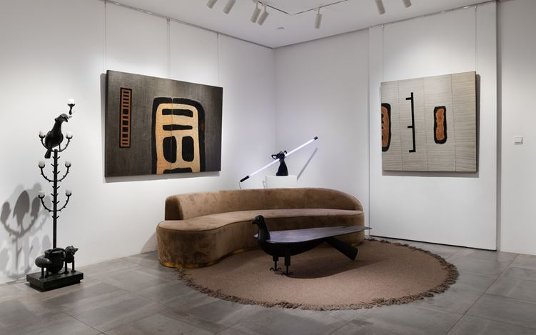 Exhibition view:Wensen Qi, Wandering, Galerie Dumonteil, Shanghai (11 July–29 August 2020). Courtesy Galerie Dumonteil. Photo: © Susan TAN.
