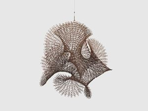 Untitled (S.590, Hanging Open Undulating Form) by Ruth Asawa contemporary artwork
