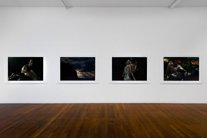 Exhibition view: Bill Henson, Roslyn Oxley9 Gallery, Sydney (5 March–1 April 2021). Courtesy Roslyn Oxley9 Gallery. Photo: Luis Power.