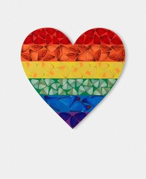 Butterfly Heart (H7-4) by Damien Hirst contemporary artwork