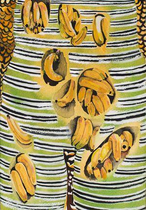'Bananas' by Jade Montserrat contemporary artwork