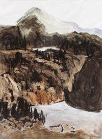 The Merapi View by Chua Ek Kay contemporary artwork mixed media