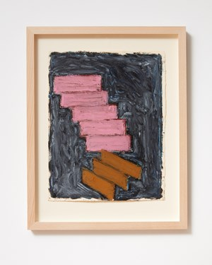 Ladder and Step Series #23 by Basil Beattie contemporary artwork