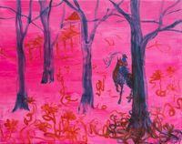 blind bend by Rebekka Steiger contemporary artwork painting