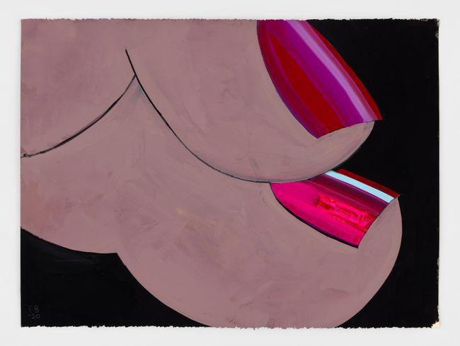 Handscape by Ellen Berkenblit contemporary artwork