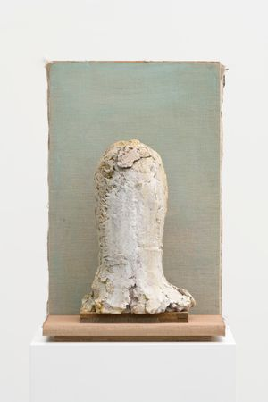 Homunculus Head by Mark Manders contemporary artwork
