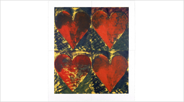 Contemporary art exhibition, Jim Dine, Jim Dine, The Classic Prints at Templon, Brussels