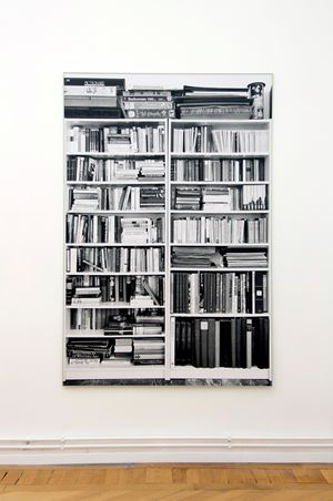 Bücherregal by Hans-Peter Feldmann contemporary artwork photography