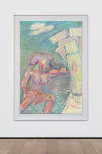 Samson by Maria Lassnig contemporary artwork painting