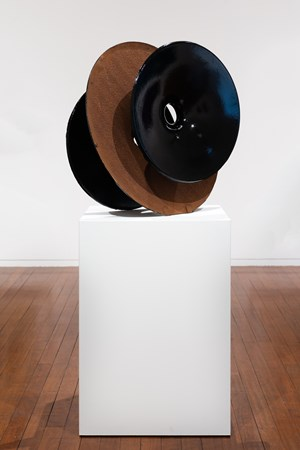 Cast Iron Inversion (Black), by James Angus contemporary artwork