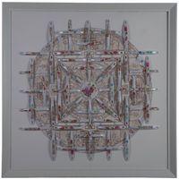 Mandala I by Nortse contemporary artwork mixed media
