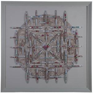 Mandala I by Nortse contemporary artwork