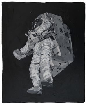 Detected Dictionary (Astronaut 2) by Stefan à Wengen contemporary artwork