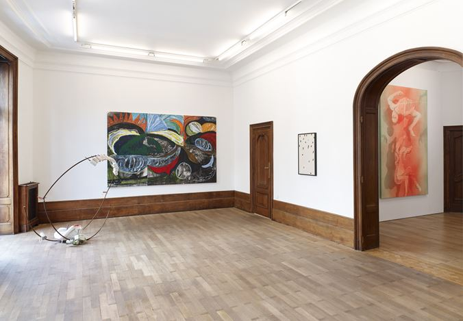 Exhibition view: Group Exhibition, EnormousBalls, Mendes Wood DM, Brussels (13 June–18 July 2020). Courtesy Mendes Wood DM.
