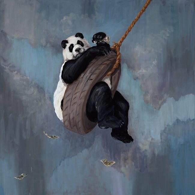 Swing Trader by Joanna Braithwaite contemporary artwork