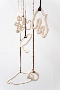 Phylactère by Hélène Bertin contemporary artwork sculpture