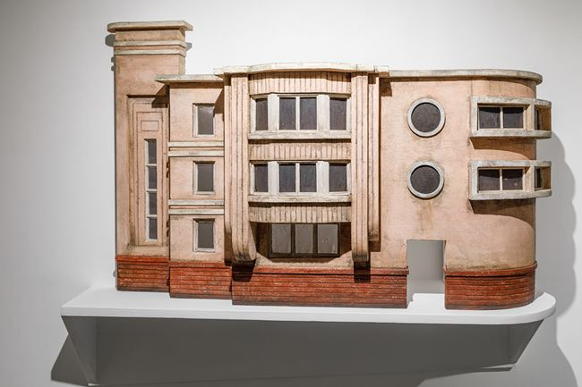 Modernist Facades for New Nations (Sculptural Proposition 2) by Sahil Naik contemporary artwork