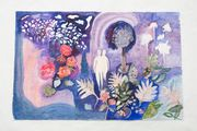 The Lake by Tamaris Borrelly contemporary artwork 1