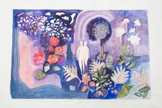 The Lake by Tamaris Borrelly contemporary artwork