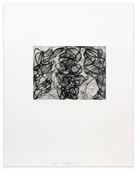 After Botticelli I by Brice Marden contemporary artwork print