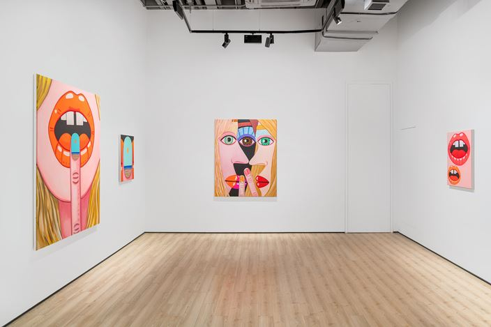 Exhibition view: Brian Calvin, Sound, Almine Rech, Shanghai (10 January–11 April 2020). Courtesy the Artist and Almine Rech.