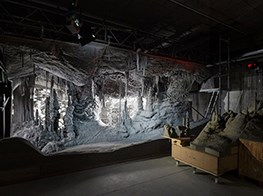 Grotto installation by Thomas Demand at Fondazione Prada